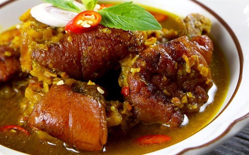 Thịt chân giò nấu giả cầy thơm ngon cho bữa cơm nhà